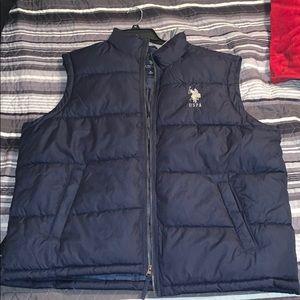 US POLO ASSN Navy Blue Vest